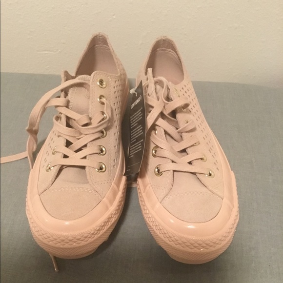 0ed2fd005ed5 Converse Lift Ripple Ox Perforated Sneaker Pink 8